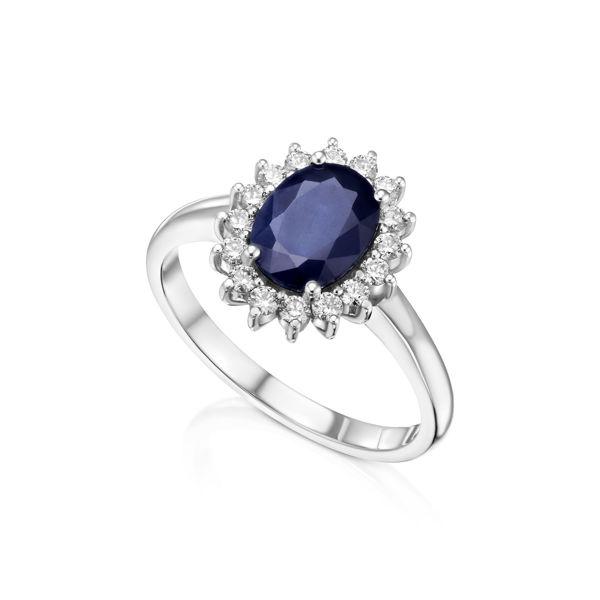 תמונה של טבעת יהלומים הנסיכה דיאנה