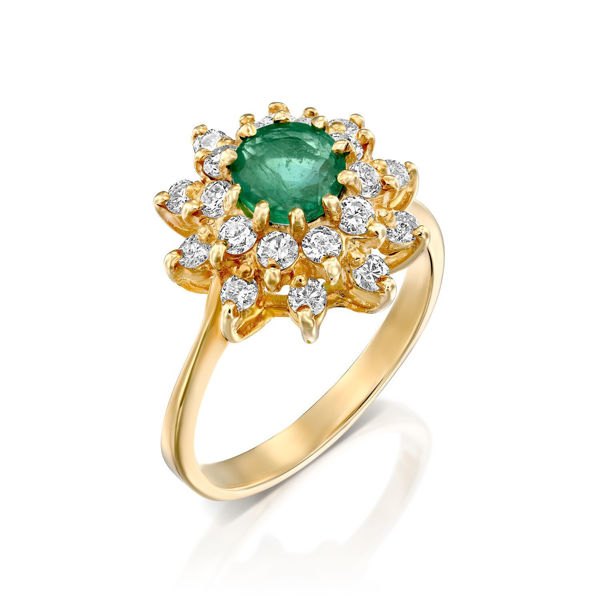 תמונה של טבעות יהלומים וינטאג'